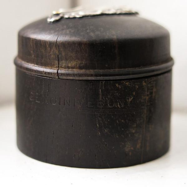Erica Tanov ebony pill box