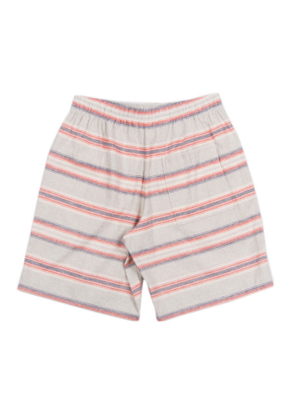 The West is Dead - Men's New Mexico Short in Grey & Red Stripe