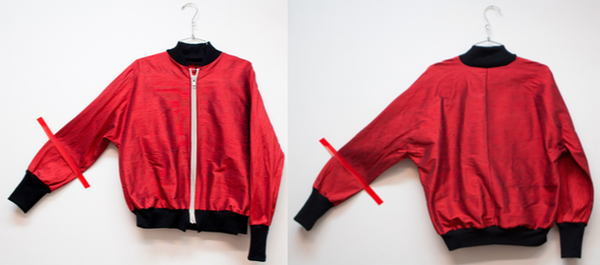 Alexa Stark Red Silk Bomber PRE-ORDER ONLY