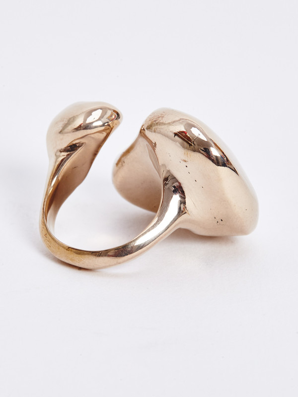 FARIS FLOAT RING / BRONZE
