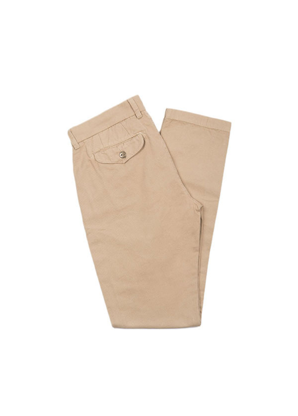 The West is Dead - Men's Slim Chino Pant in Khaki