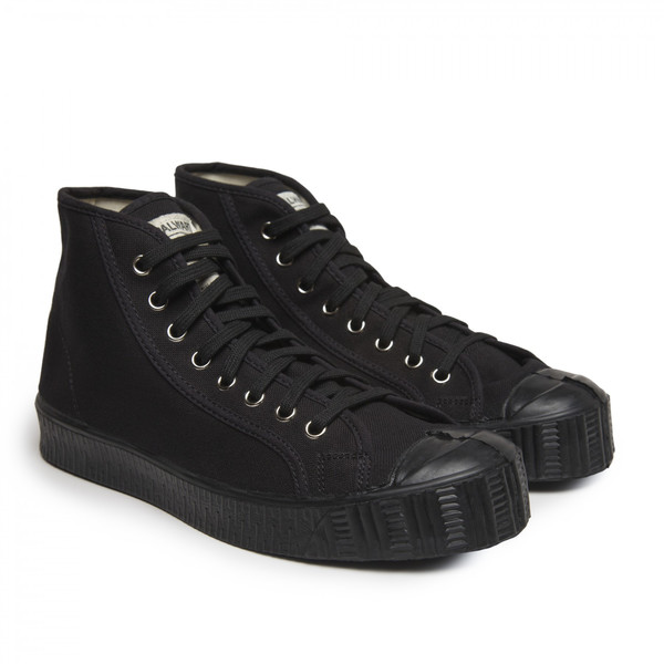 Unisex Spalwart Cotton Special Mid Sneaker - Black