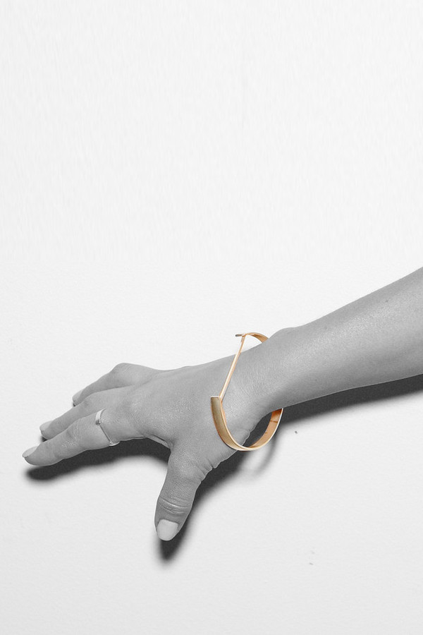 Sayaka Davis Gold Stacy Cuff