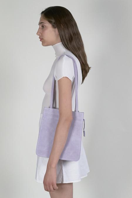 Clyde Best Bag - Lavender Suede