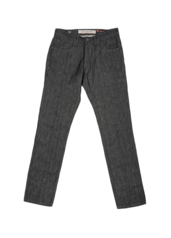 Men's Williamsburg Garment Company - Mens Grand Street Selvedge Slim in Black