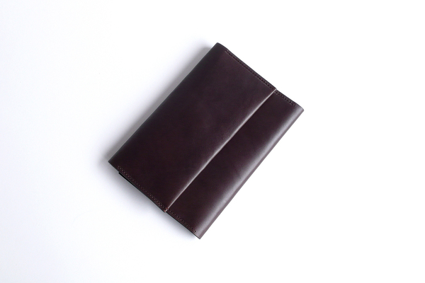 Sara Barner Large Trifold Wallet - Dark Brown