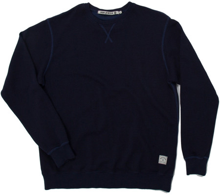 Men's Iron and Resin CREWNECK LIBERTAD MARINE / NAVY