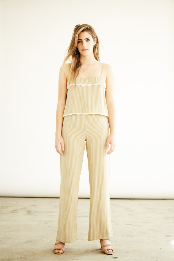 BETWEEN TEN Charlotte Pant - Beige