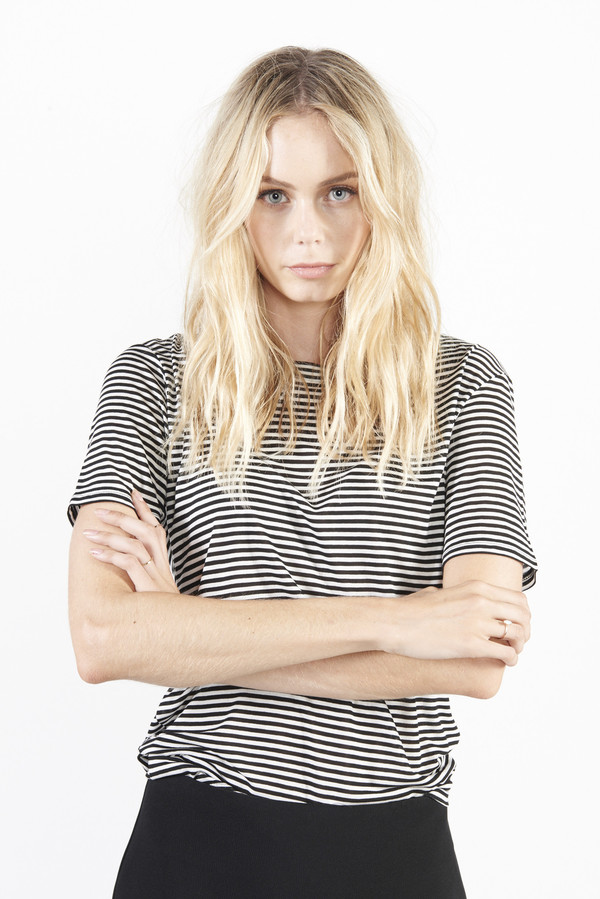 Rho Tee - Striped