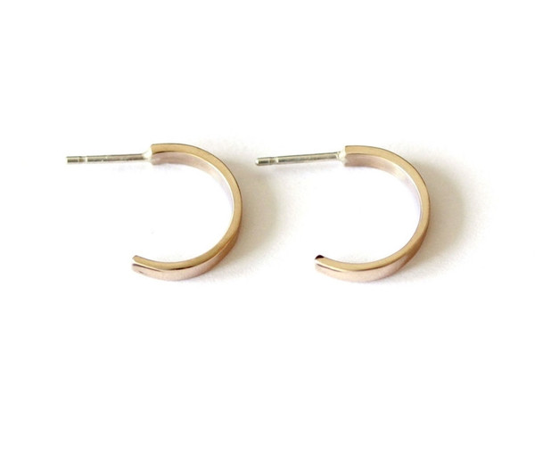 Small Open Hoops