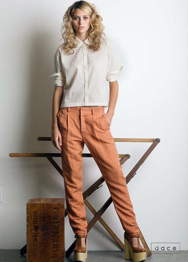 Dace - Cherry Trouser