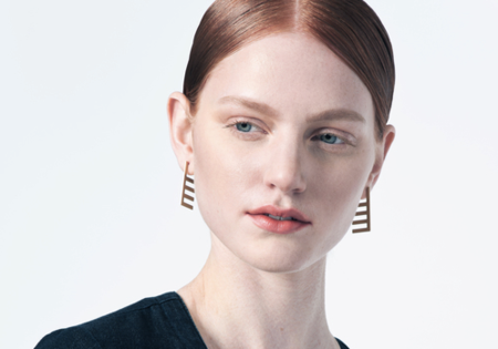 Natalie Joy Horizon Line Posts Earrings