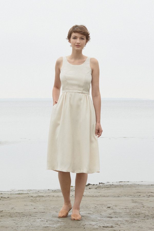 Betina Lou Jasmine Dress (Off White)
