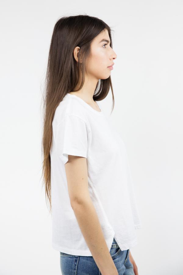 AMO Twist Tee - White