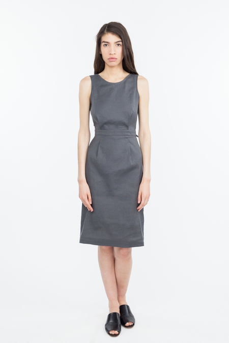 Obakki Florence Dress - Charcoal