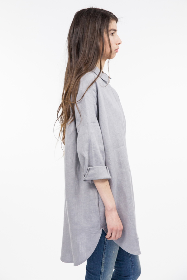 Priory Ssan Tunic - Blue Grey