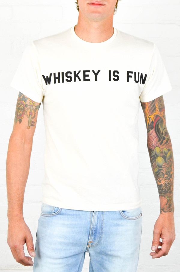 Men's 18 Waits 'Whiskey Is Fun' Tee