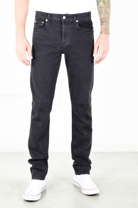 Men's Ksubi Chitch Washed Black