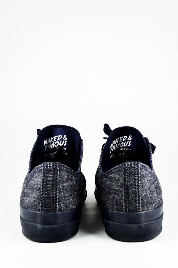Men's Naked and Famous Indigo Denim Japan Sneaker