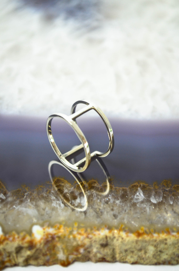 Still House Silver Cote Ring