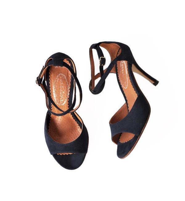 A.P.C. Navy Tango Leike Heel