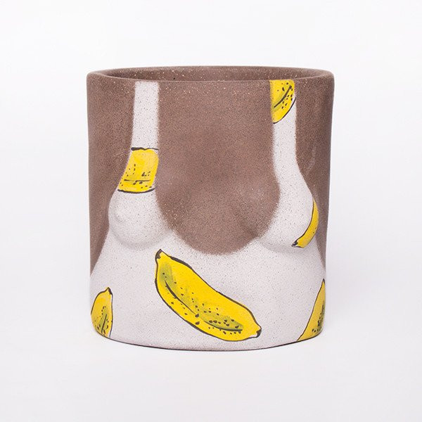Group Partner Banana Girl Pot Dark