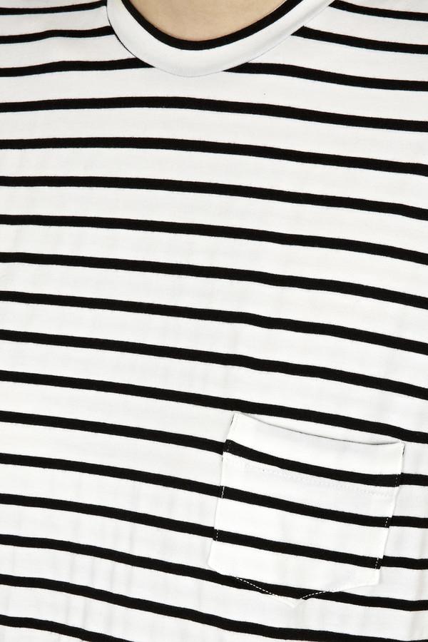 Heidi Merrick - Black Stripe 'Belmont' Tee
