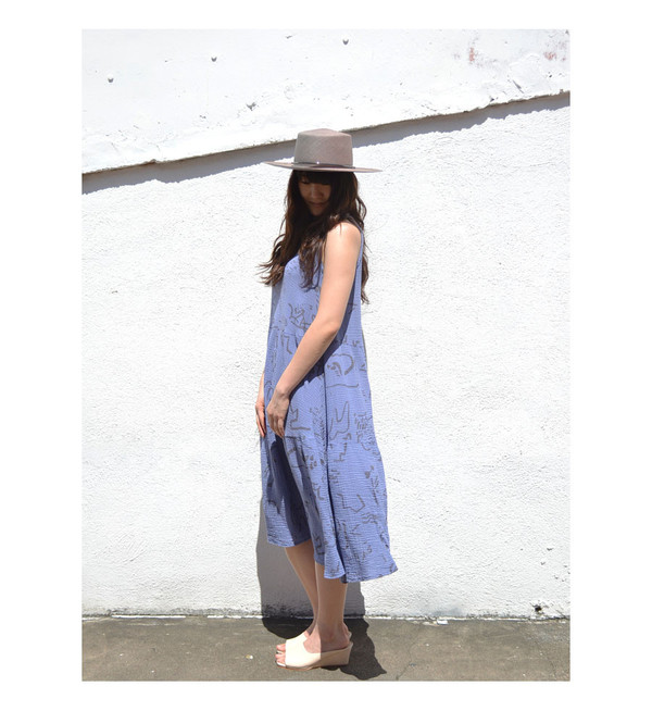 See Sun Indigo Vacation Dress