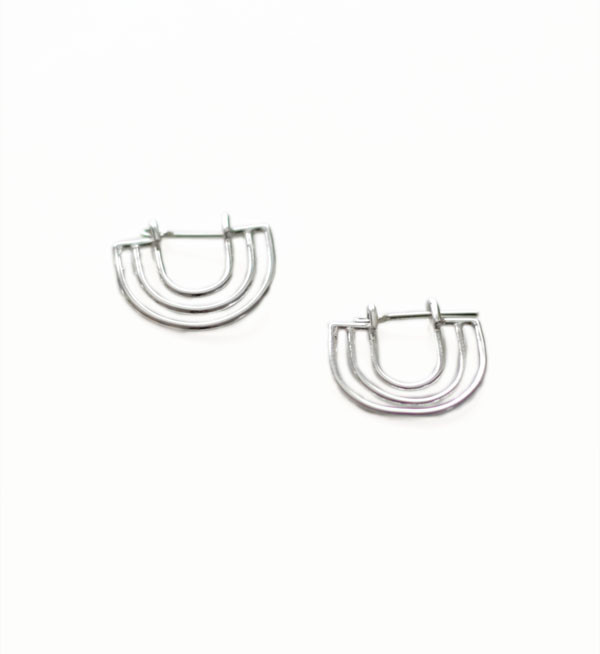 Tiro Tiro Silver Dimi Earrings