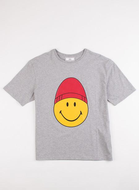 Men's AMI Alexandre Mattiusi Happy AMI printed T-shirt