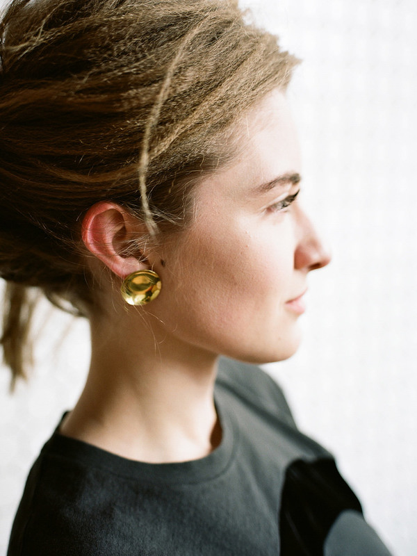 Another Feather Cymbal Earrings