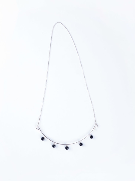 Better Late Than Never Elliptic Necklace