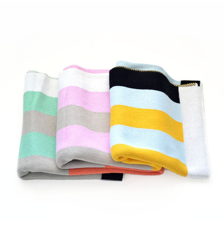 Dusen Dusen Stripes Throw Blanket