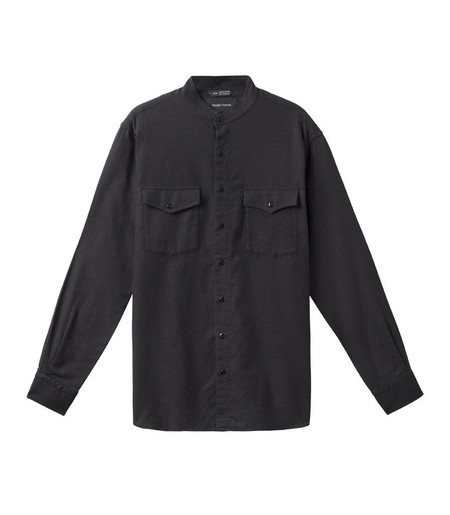 Men's Wings + Horns Brushed Twill Field Shirt | Charcoal