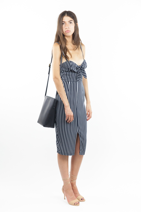 Bec & Bridge Matchstick Tie Dress - Stripe