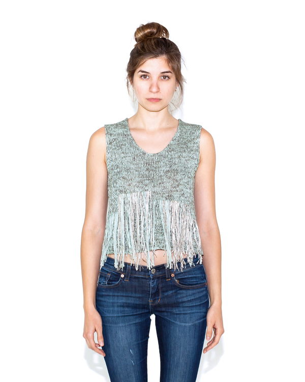 Correll Correll Knit Frans Top