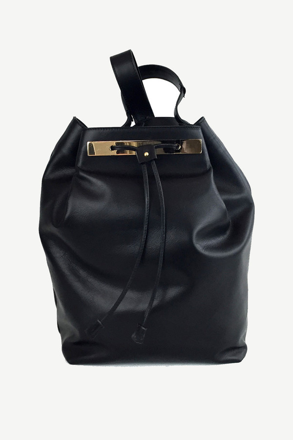 Ella Valentine Josie Leather Backpack
