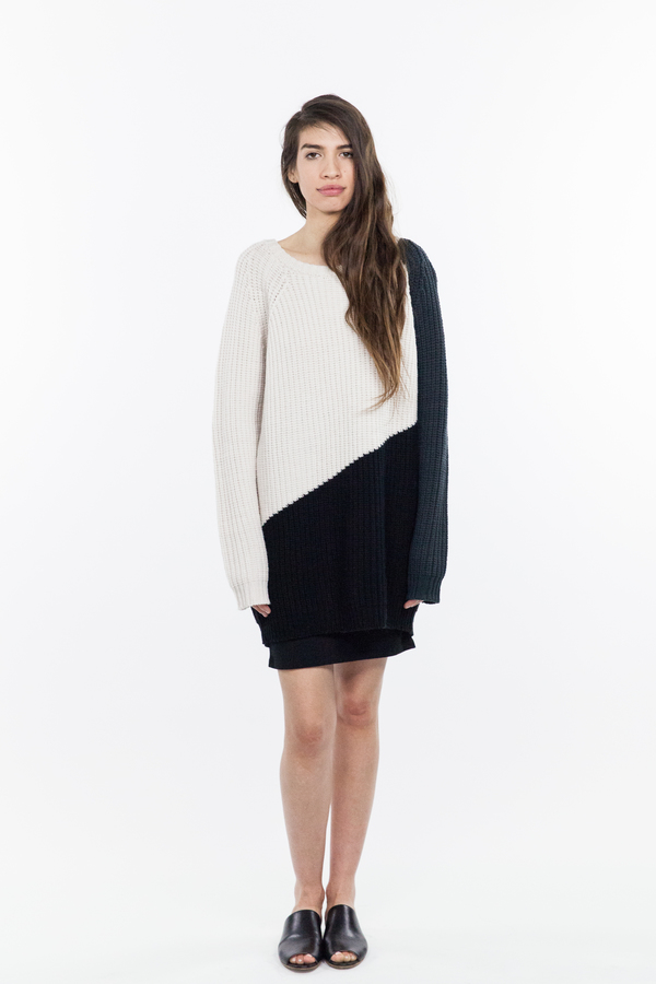 Emerson Fry Triangle Long Sweater