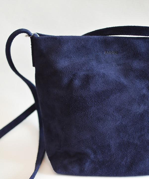 Baggu Midnight Suede Cross Body Bag