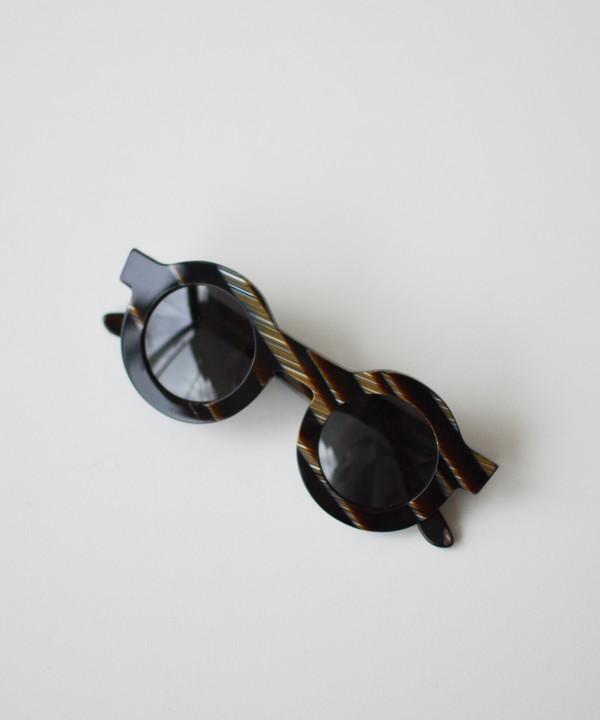 Dusen Dusen Horn Circle Sunglasses