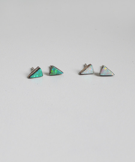 Erica Weiner Isosceles Opal Earrings