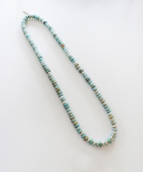 Growing Jewelry Infinite Amazonite Necklace