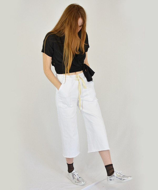Lacausa Denim Crop Pants