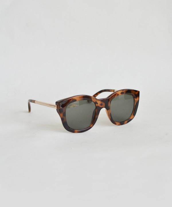 Le Specs Milky Tort Runaway Luxe Sunglasses