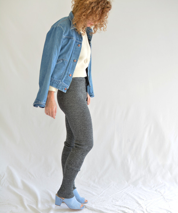 Micaela Greg Ribbed Slim Sweats