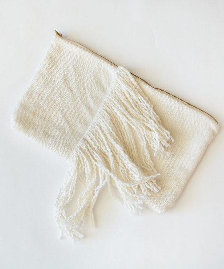 Proud Mary Fringe Clutch