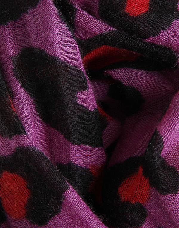 Crumpet - Monster Leopard Cashmere Silk Scarf