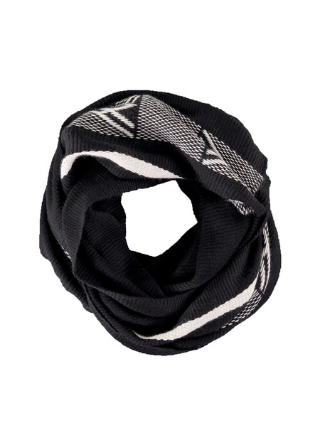 Voz Black Diagonal Shawl