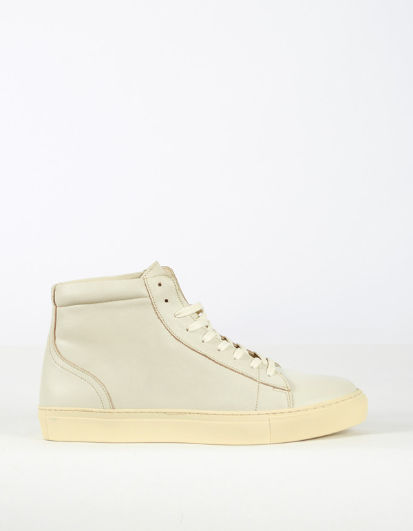 Men's Garment Project Legend High Top Sneaker Off White