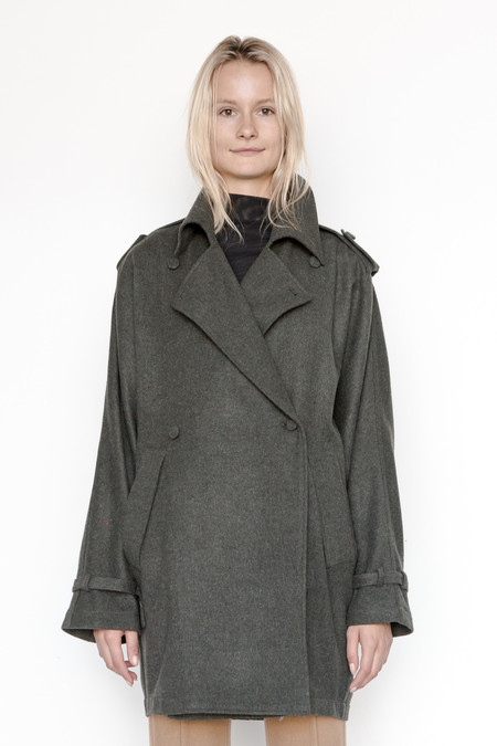 Assembly New York Poly Heather Oslo Trench
